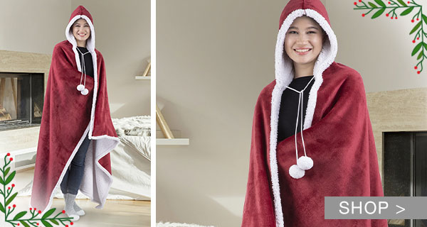 DEAL OF THE DAY: HOODED BLANKETS