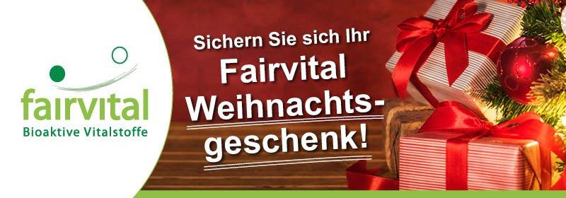 Fairvital Vitalstoffe Frohe Weihnachten Ihr Geschenk Von