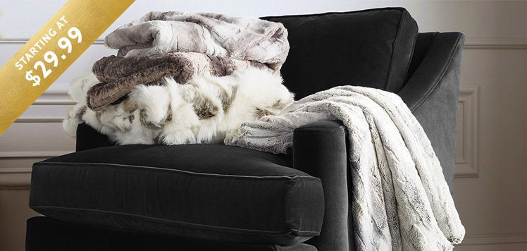 Cashmere to Faux-Fur Throws & More