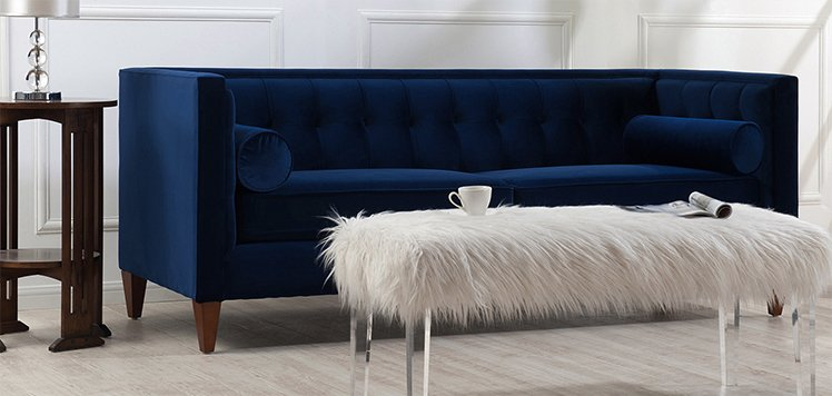 Up to 70% Off Navy & White Furniture