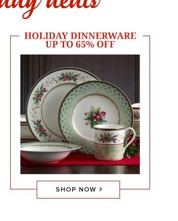 Shop Holiday Dinnerware