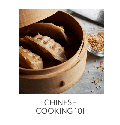 Chinese Cooking 101