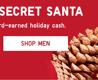 BE YOUR OWN SECRET SANTA - SHOP MEN