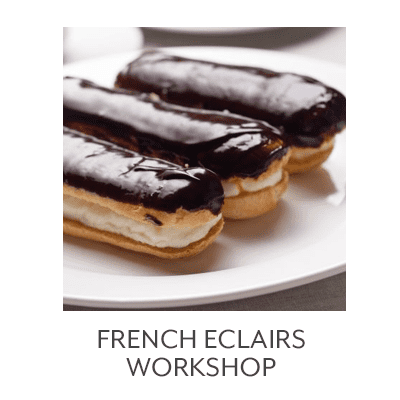 French Eclairs Workshop