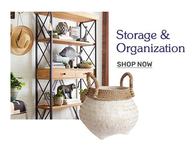 Shop storage and organization.