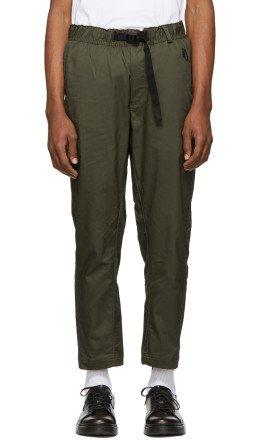 NikeLab - Khaki Woven NRG Trousers