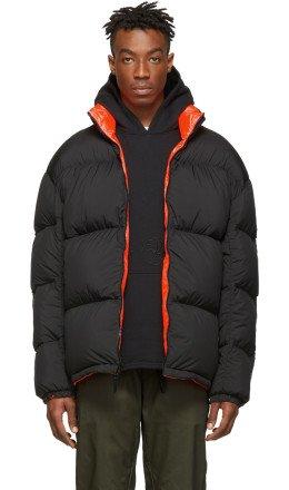 NikeLab - Reversible Black & Orange Down NRG Puffer Jacket