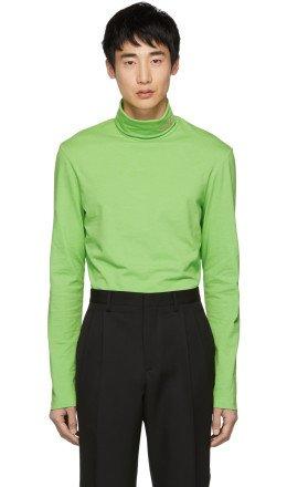 Calvin Klein 205W39NYC - Green Logo Turtleneck