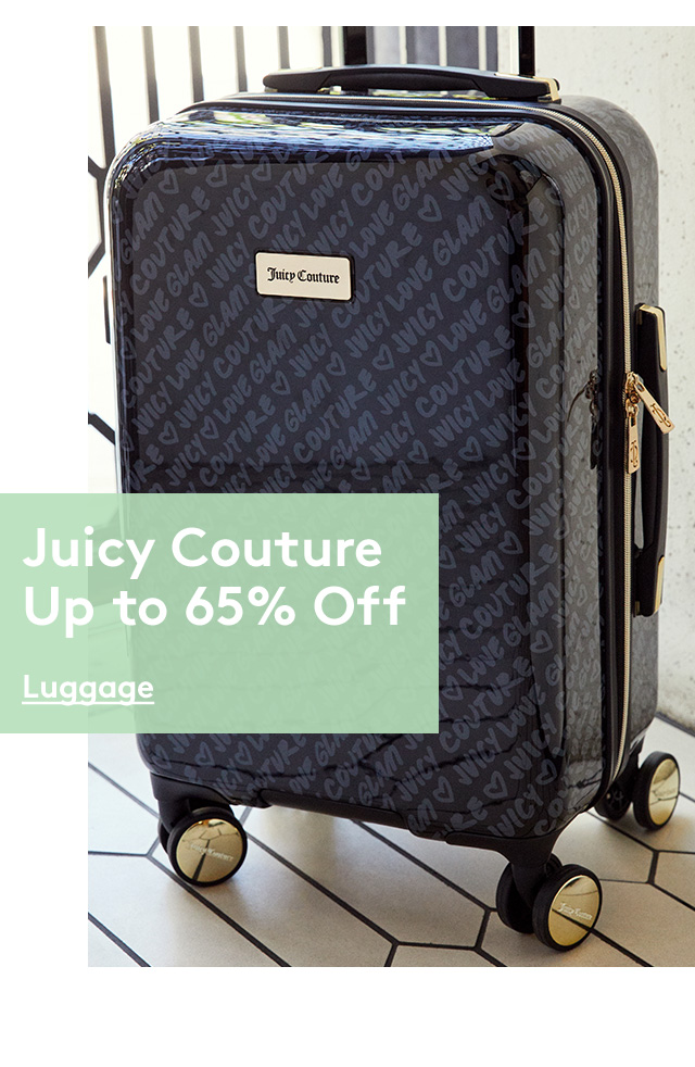 Juicy Couture | Up to 65% Off | Luggage