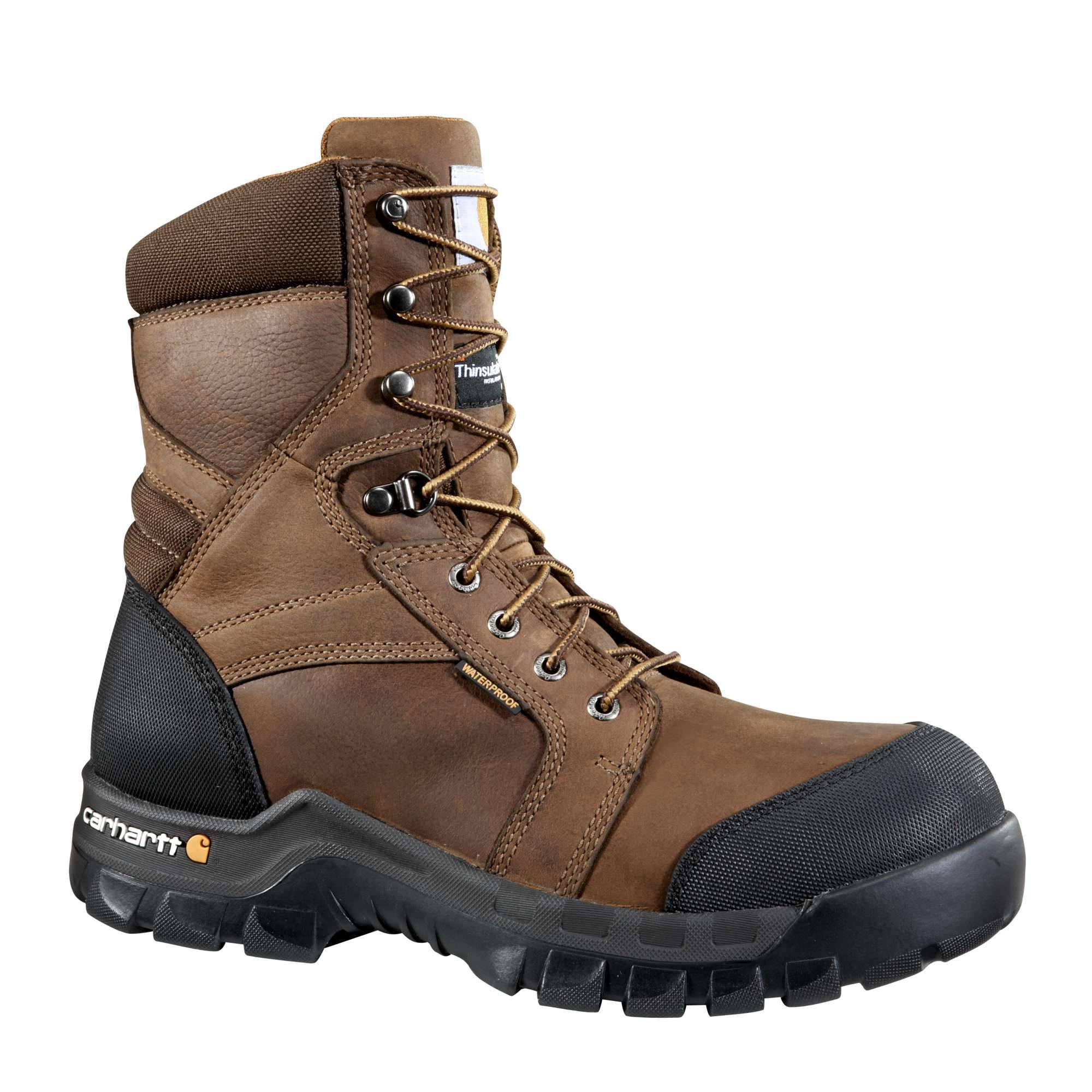 MEN'S RUGGED FLEX® 8-INCH INSULATED COMPOSITE TOE WORK BOOT