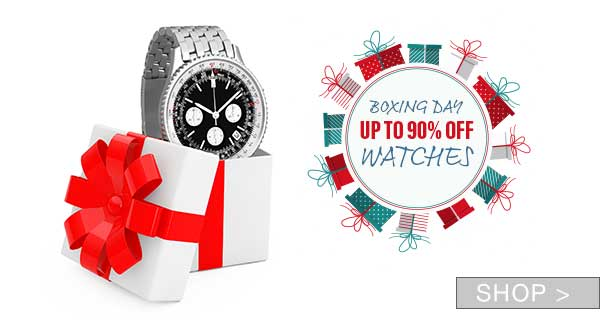 BOXING DAY: JEWELRY & WATCHES