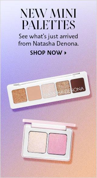 Shop Now Mini Palettes from Natasha Denona
