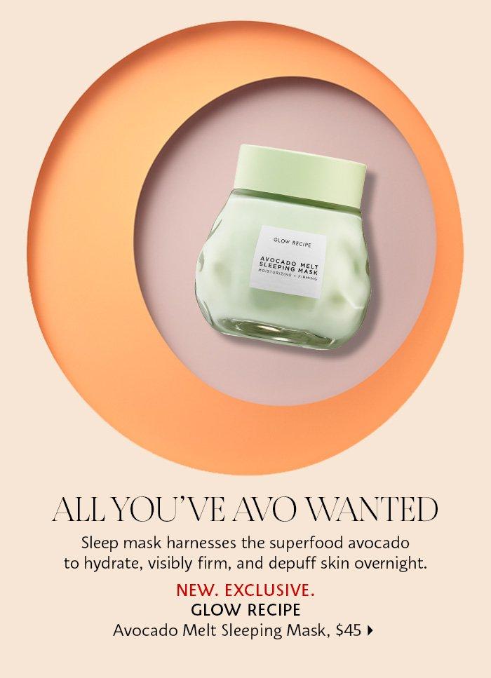 Glow Recipe - Avocado Melt Sleeping Mask