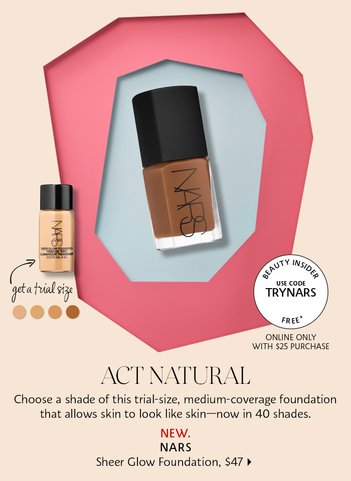Get a Nars trial size*