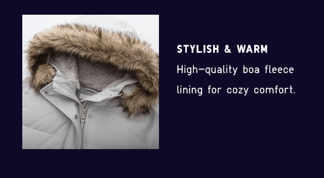 STYLISH & WARM