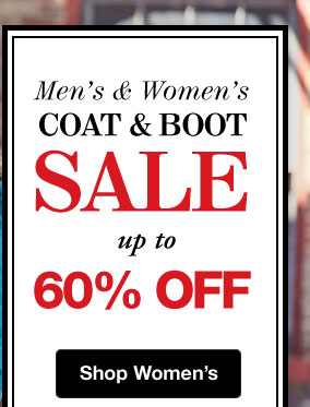 Coat & Boot Sale