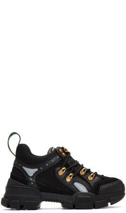 Gucci - Black Flashtrek Chunky Sneakers