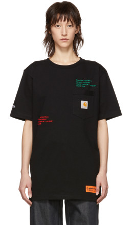 Heron Preston - Black Carhartt Edition T-Shirt