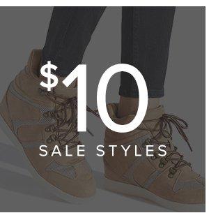 SHOP $10 SALE STYLES