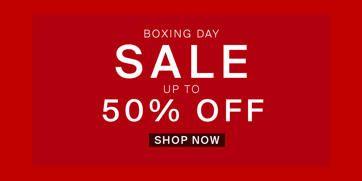 Hudson Shoes: BOXING DAY SALE | Up to