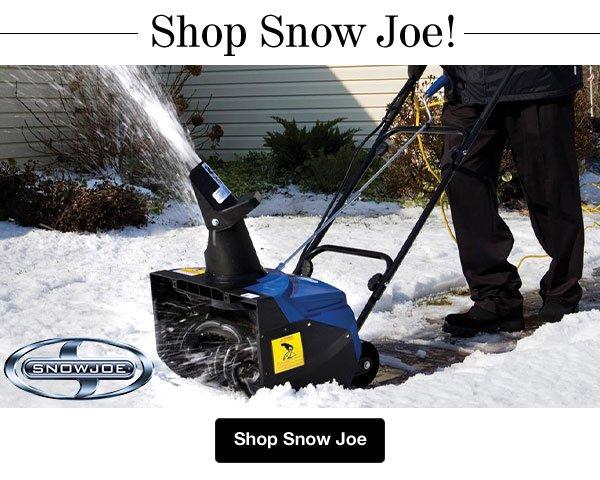 Shop Snow Joe!