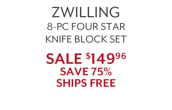 Zwilling 8 Piece Knife Block Set