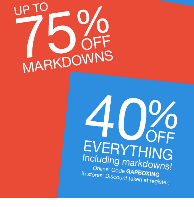 9b7087b6d Gap Canada  Up to 75% off + extra 40% off is no joke (double deal ...