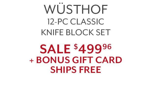 Wusthof 12-PC Classic Knife Block Set