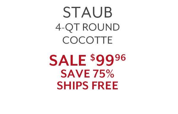Staub 4 qt Round Cocotte