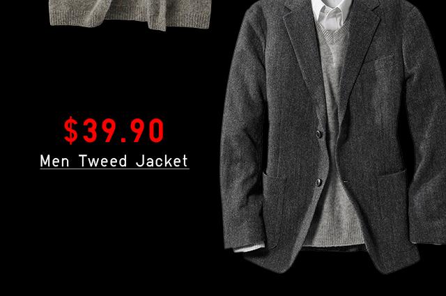 $29.90 MEN TWEED JACKET