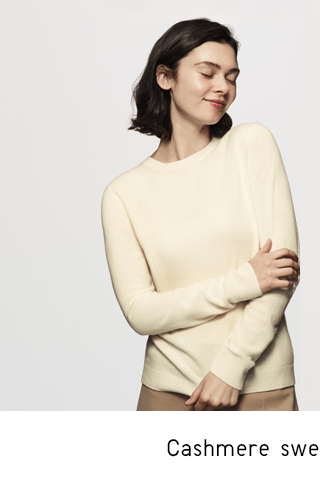 CASHMERE SWEATERS $20 OFF