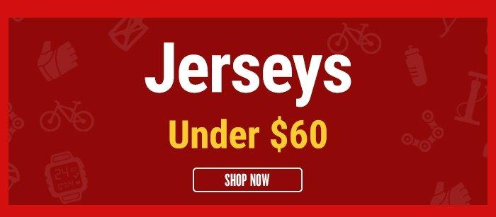 Jerseys under $60