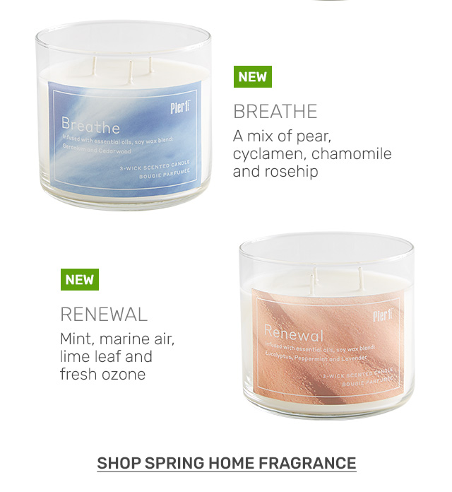 Shop spring fragrance.