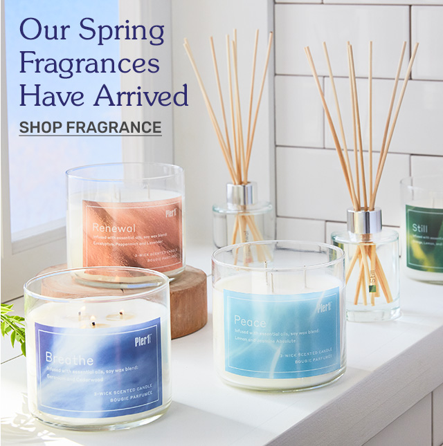 Our spring fragrances have arrived. Shop fragrance!