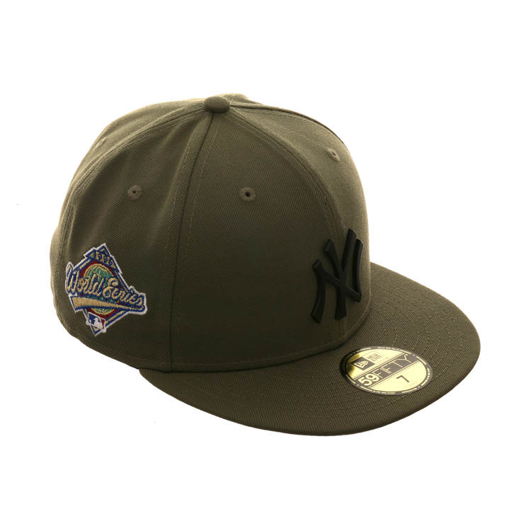 cf439c5cab353c Exclusive New Era 59Fifty Matte 1996 World Series New York Yankees Hat -  Olive Green,