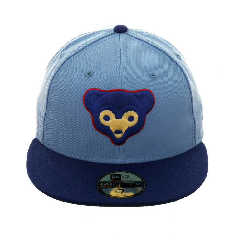 bb5032fd64ea4 Exclusive New Era 59Fifty Chicago Cubs 1972 Alternate Hat - 2T Light Blue