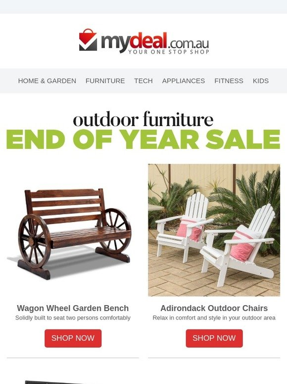 Phenomenal Mydeal Com Au On Now End Of Year Outdoor Furniture Sale Gmtry Best Dining Table And Chair Ideas Images Gmtryco