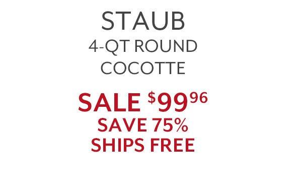 Staub 4-QT Cocotte
