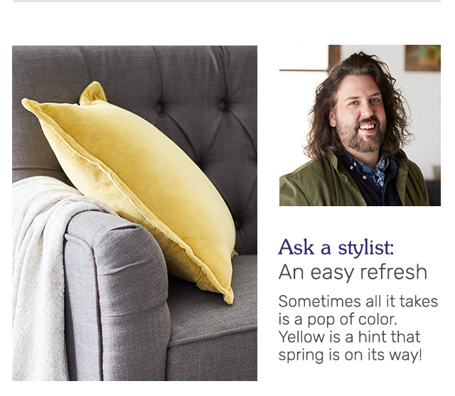 Ask a stylist.