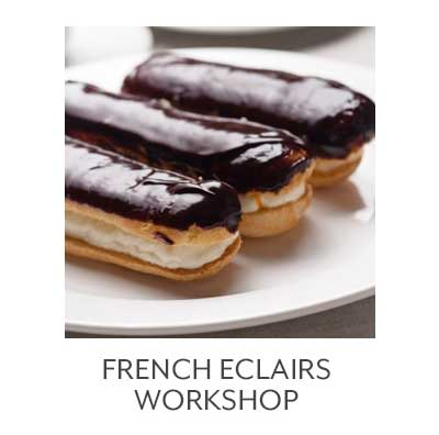 Class French Eclairs Workshop