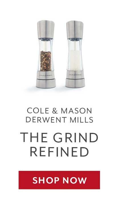 Cole & Mason Derwent Salt & Pepper Mills