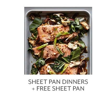 Class Sheet Pan Dinners + Free Sheet Pan