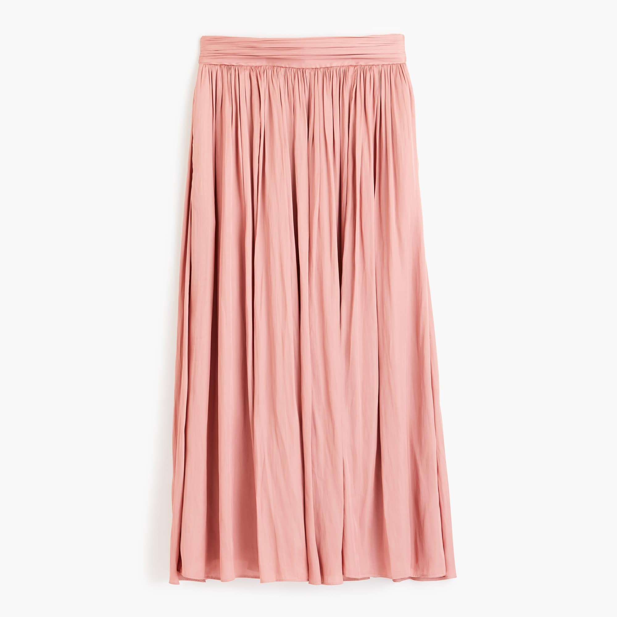 Classic Point Sur crinkled maxi skirt