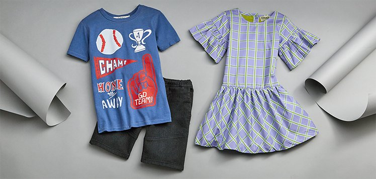 First Preview: Spring-Ahead Style for Kids