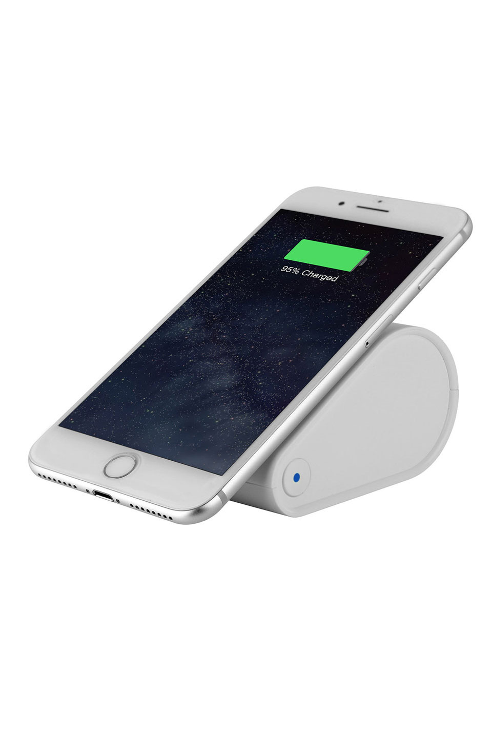 10400mAh Qi Wireless Charger Fast Charge Power Bank in White