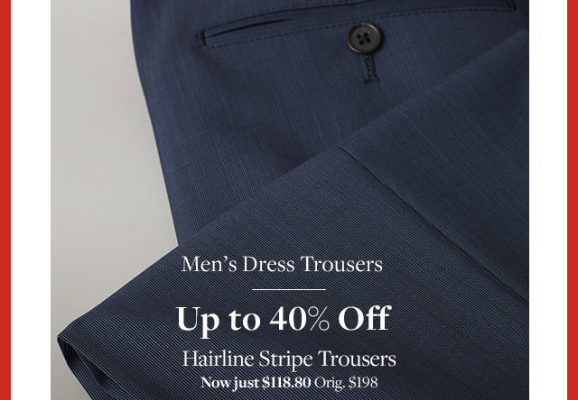 MEN'S DRESS TROUSERS