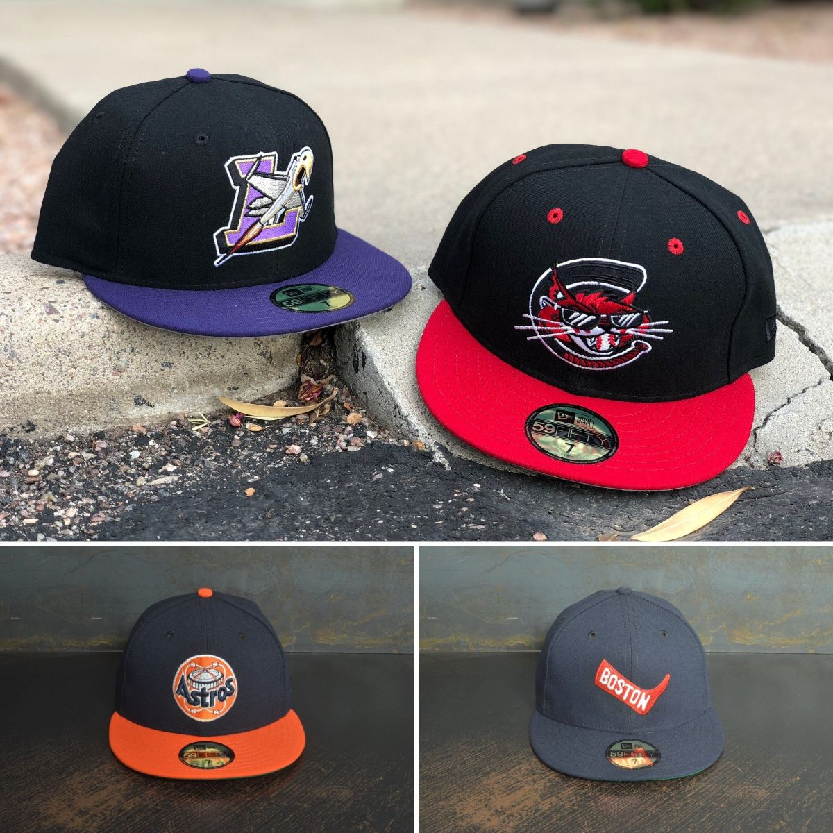 8f2e94d86c069c The newest Hat Club Exclusive Collection drops today at 11am PST. Today we  are featuring two teams from the MiLB and two teams from the MLB.