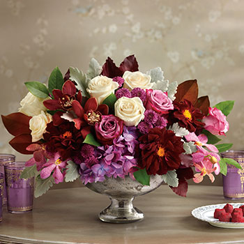 Teleflora's Beautiful Harvest Centerpiece