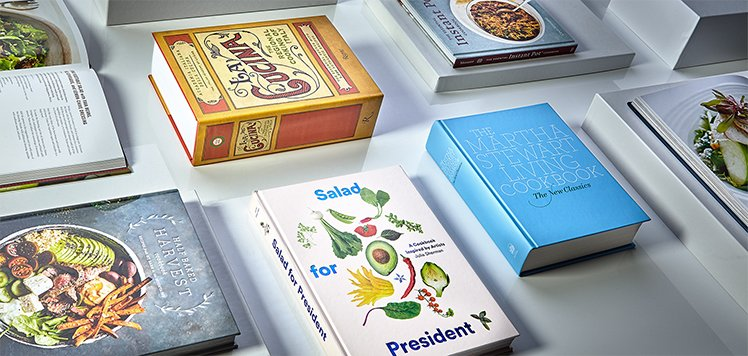 Cookbooks for a Healthy 2019