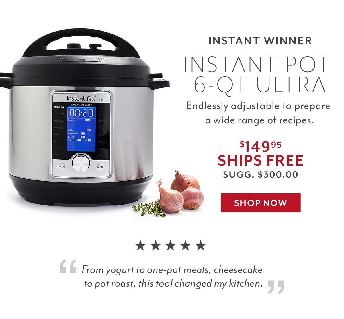 Instant Pot 6-QT Ultra